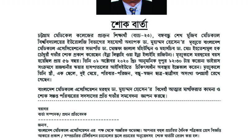 Sok Barta Dr. Muhammad Hossain